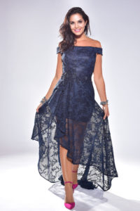 Mia Net Evening Dress