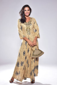 Priti Rayon Long Dress