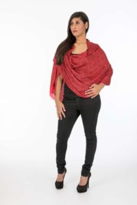 Polyester Viscose Scarf