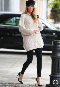 chunky jumper with legging