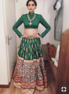 Indian wear for rectangular body shape