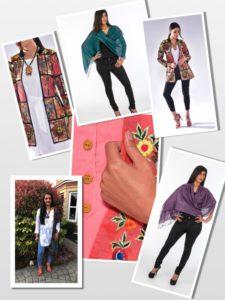 Jackets & Stoles - capsule wardrobe
